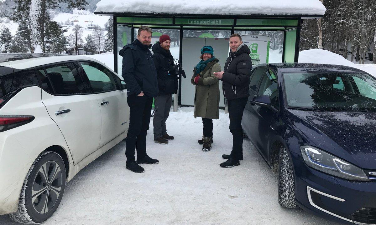 Åpner Norges største ladested for elbiler på Vulkan