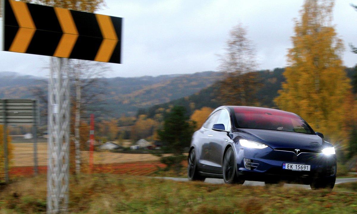 Tesla Model X 100D og P100D
