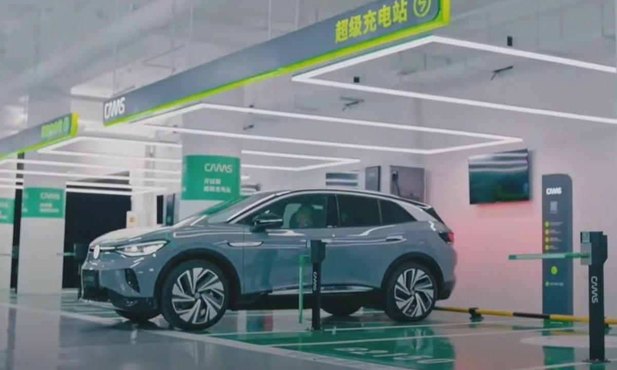 Ny VW-strategi: Innfører køfri lading for kundene