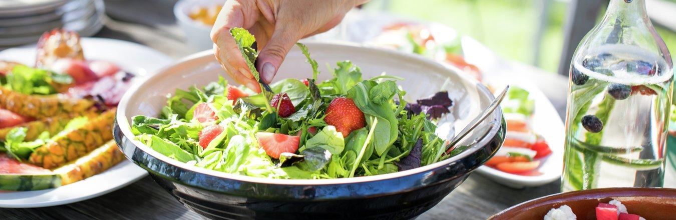Sommermat, salater og grilling