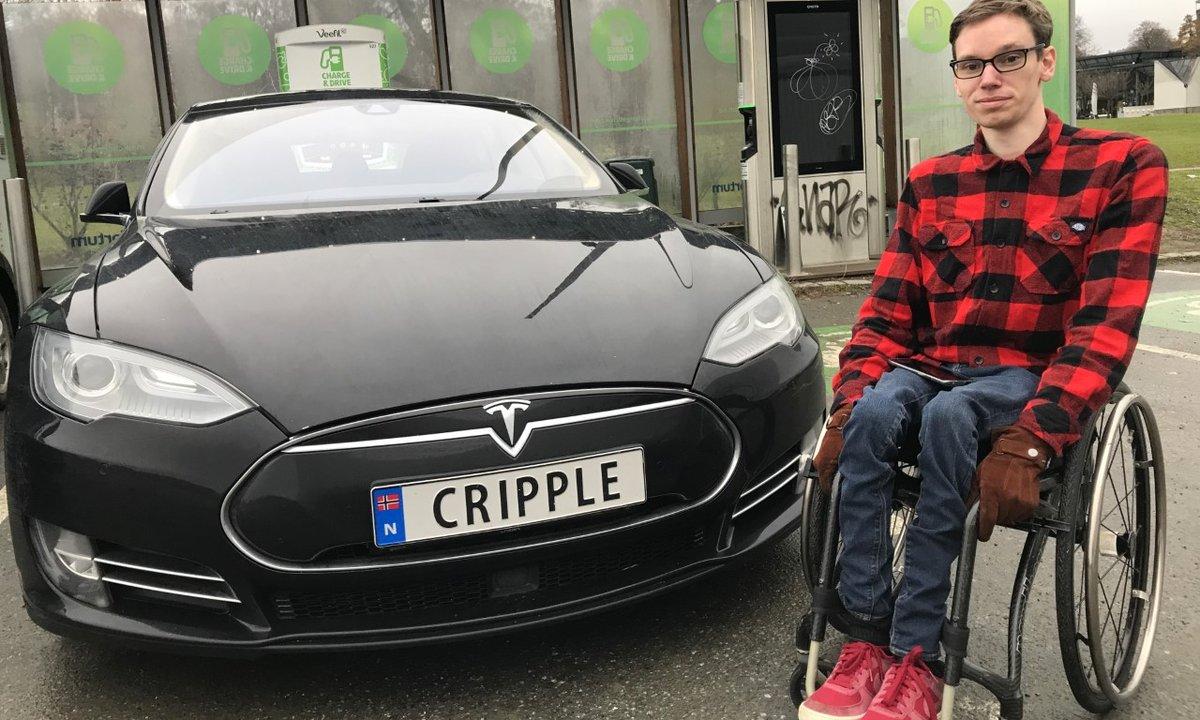 Mr. CRIPPLEs elektriske rullestol