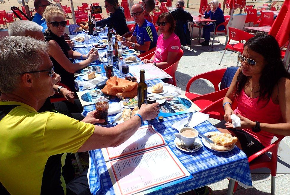 Kondis på treningsleir med Springtime i Monte Gordo i Portugal