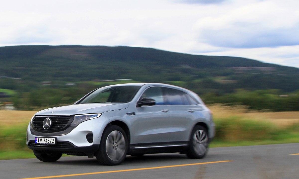 Test av Mercedes-Benz EQC 400: Leverer over all forventning