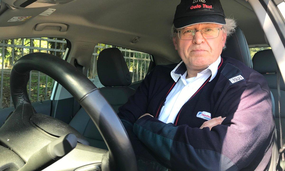 En eltaxisjåførs utblåsning