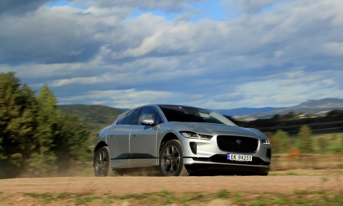Test av Jaguar I-Pace: Kan klare 400 kilometer
