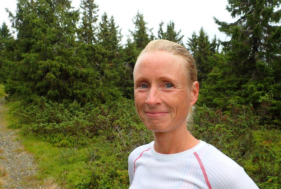 Kjersti Ervik angrer ikke for at hun gikk fra sykling til løping. (Foto: Marianne Røhme)