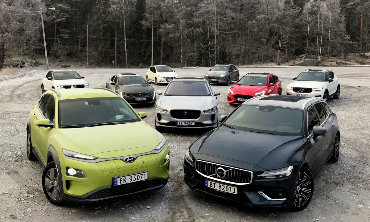 Elbil vant igjen: Jaguar I-Pace er Årets bil 2019