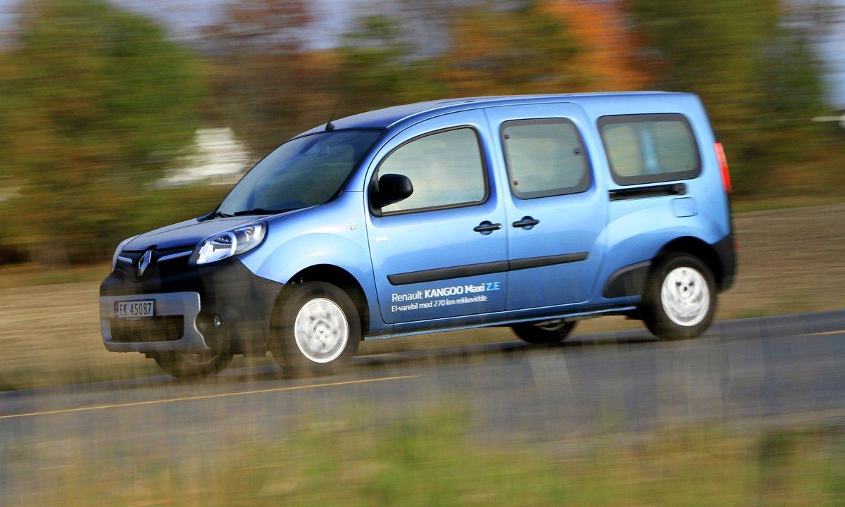 Test av Renault Kangoo Maxi Z.E: En enkel familiefrier