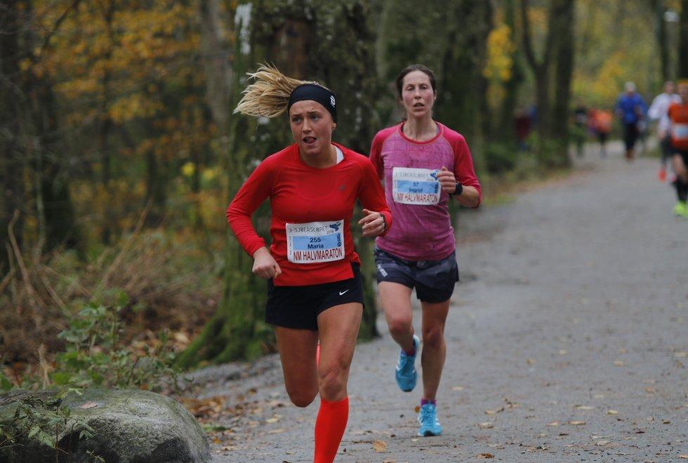 3 sjøers løpet 2018 - Maria Wiig og Ingrid Ukkelberg
