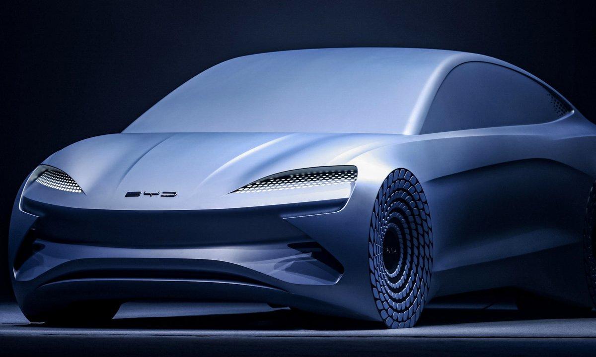 Nytt konsept fra BYD: Denne skal klare 100 mil