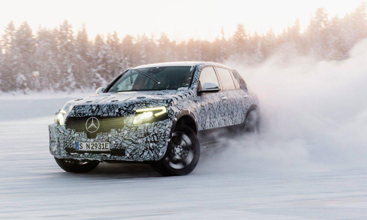 Mercedes-Benz teaser 2019-modellen EQC
