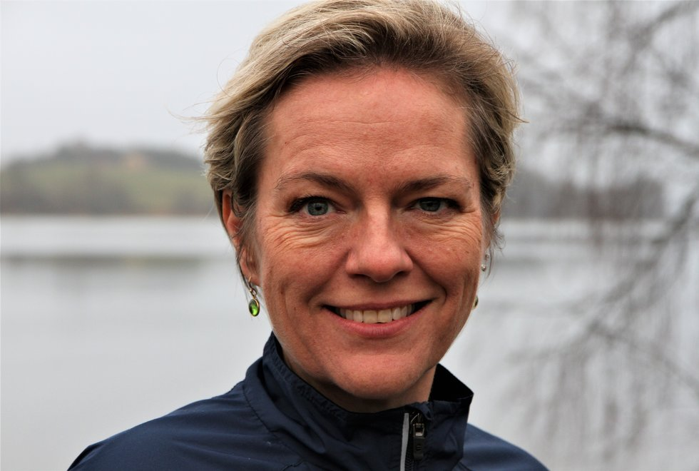 Gunn-Marit Aarlie Heiberg bruker treningen for å få overskudd i hverdagen. (Foto: Marianne Røhme)