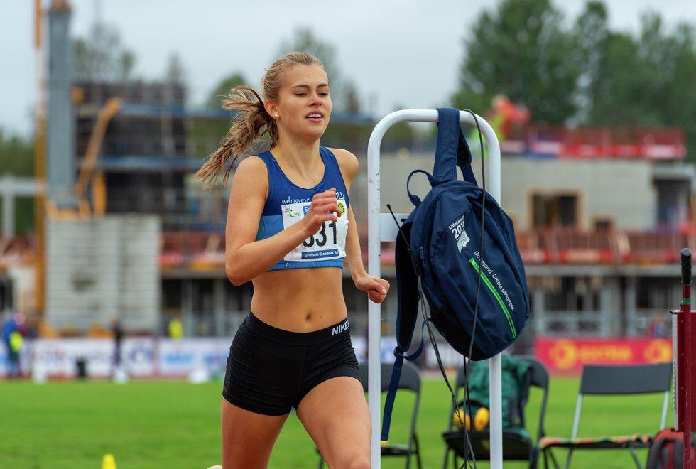 UM friidrett 2019 Jessheim - 800m J18/19