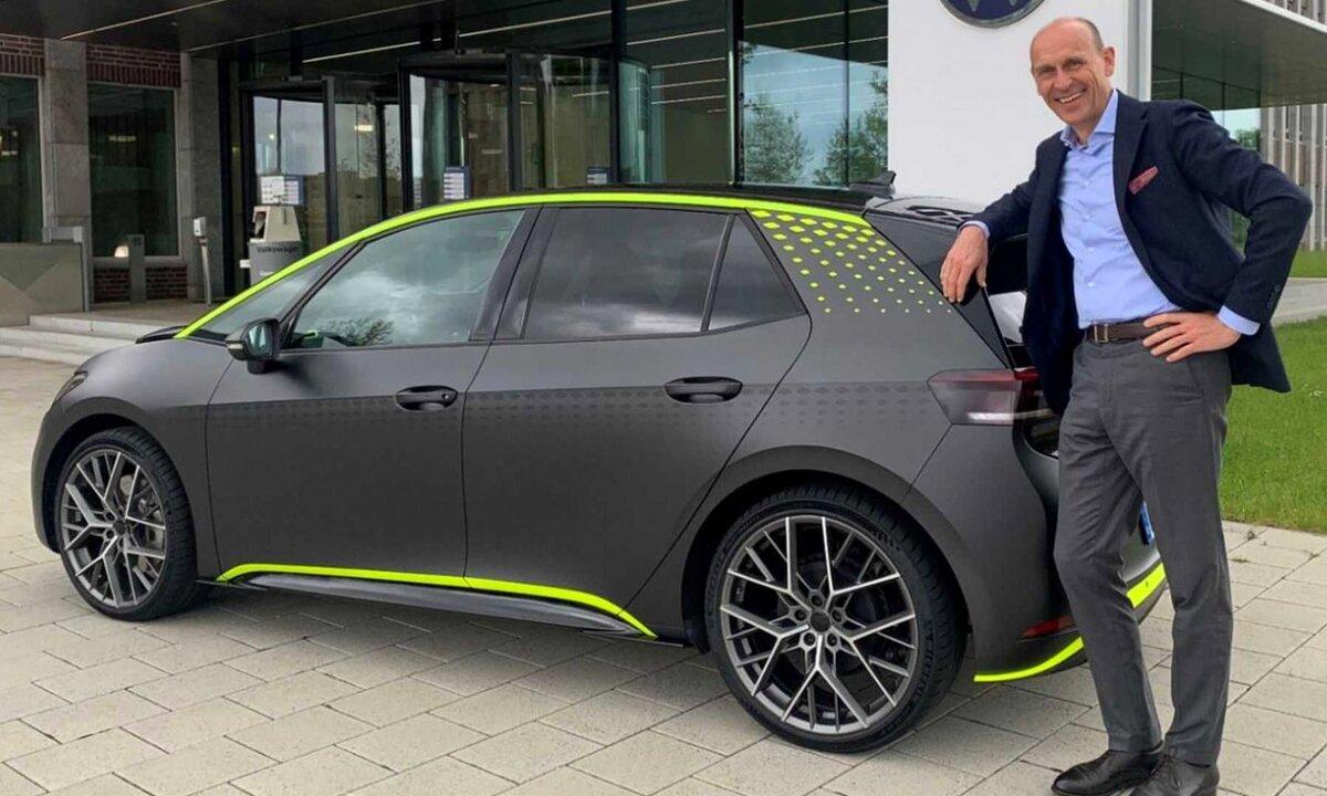 VW ID.X: Her ser du Golf R-erstatteren