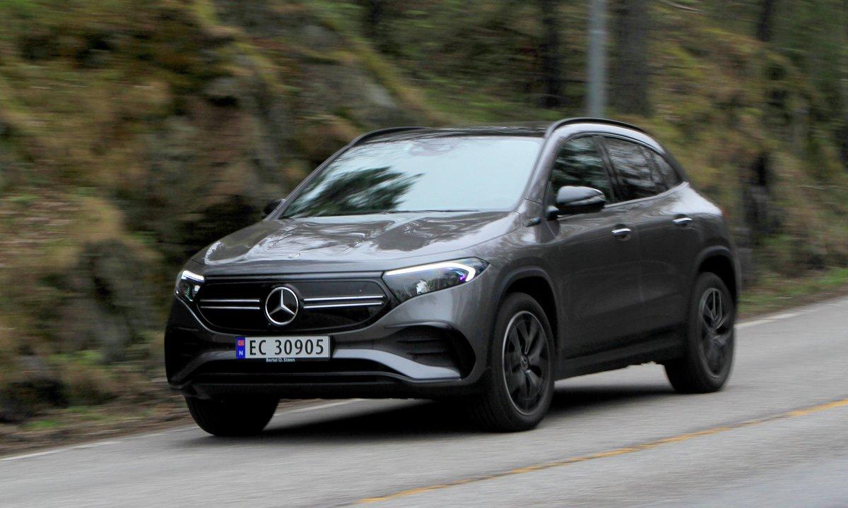 Test av Mercedes EQA 250: Luksuriøs ladekonge