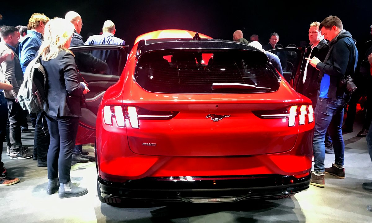 Ford satser 187 milliarder kroner på nye elbiler