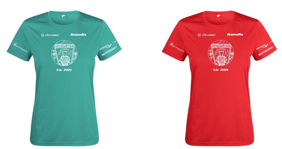 T-sjorter Kondisløpet vår 2021