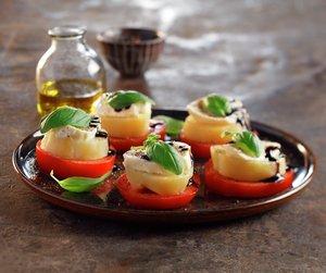 Salat caprese med poteter