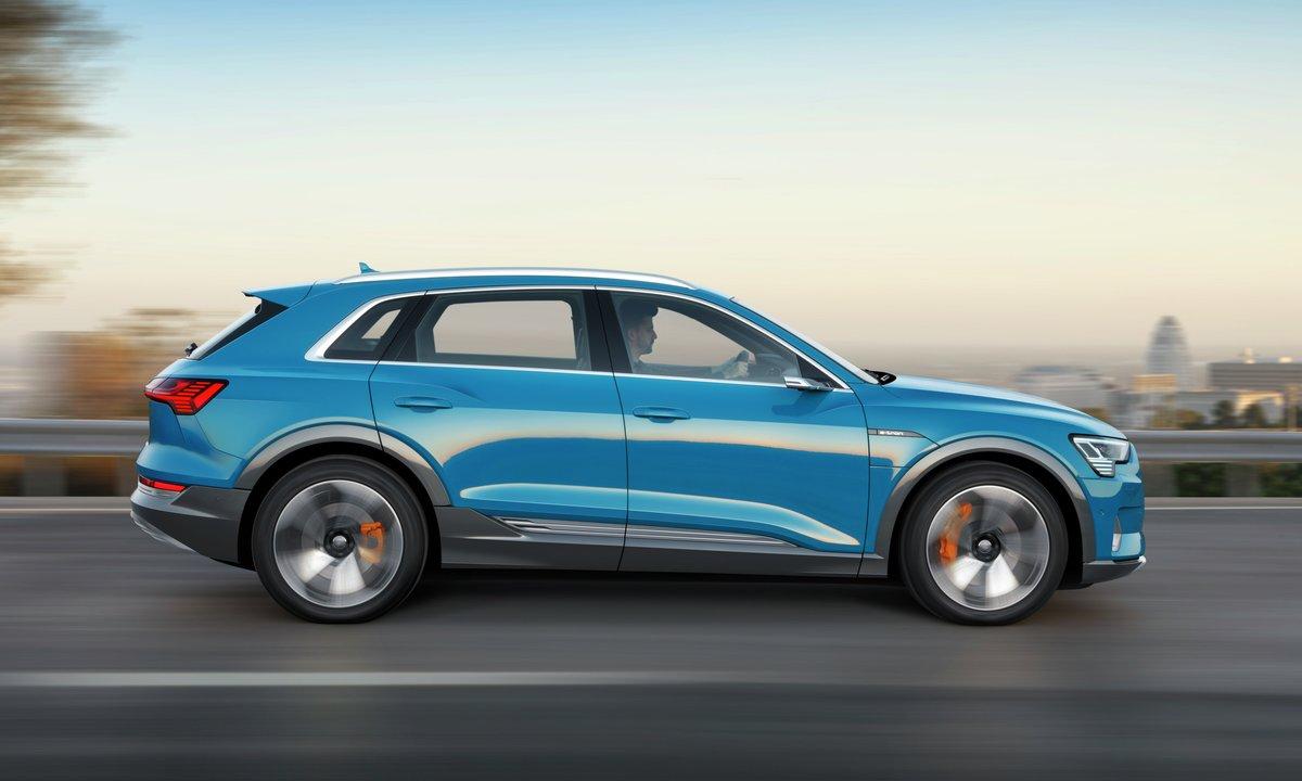 Nå er Audi e-tron ikke lenger en hemmelighet