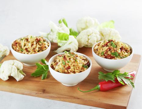 Blomkålris - ris laget av blomkål