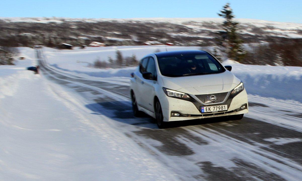 Nissan LEAF mest solgte bilmodell i 2018