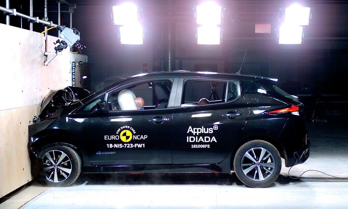 Nye Nissan LEAF: Nytt bevis på at elbiler er sikre