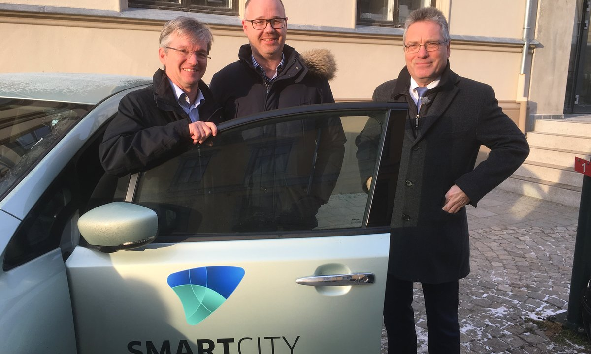 Halden kommune deler elbiler med innbyggerne