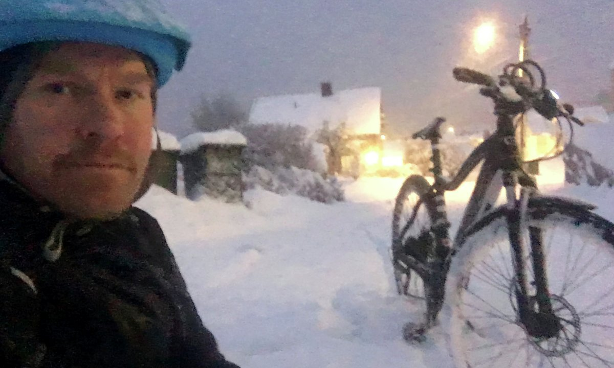 Vinteren jeg tok elsykkel for buss