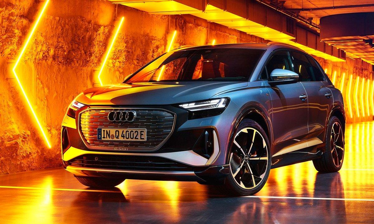 Her er nye Audi Q4 e-tron – billig lillebror med solid kapasitet