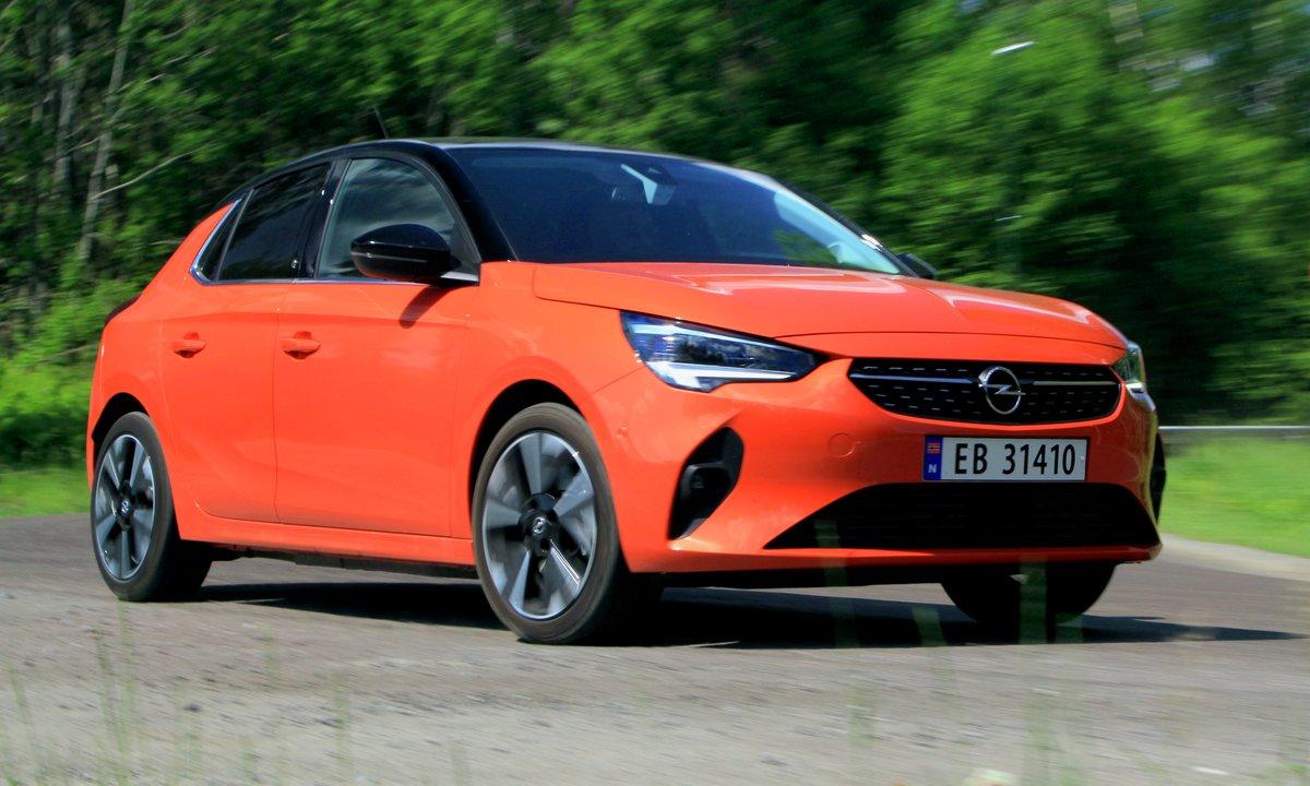 Test av Opel Corsa-e: Endelig lynladet en småbil 100 kW