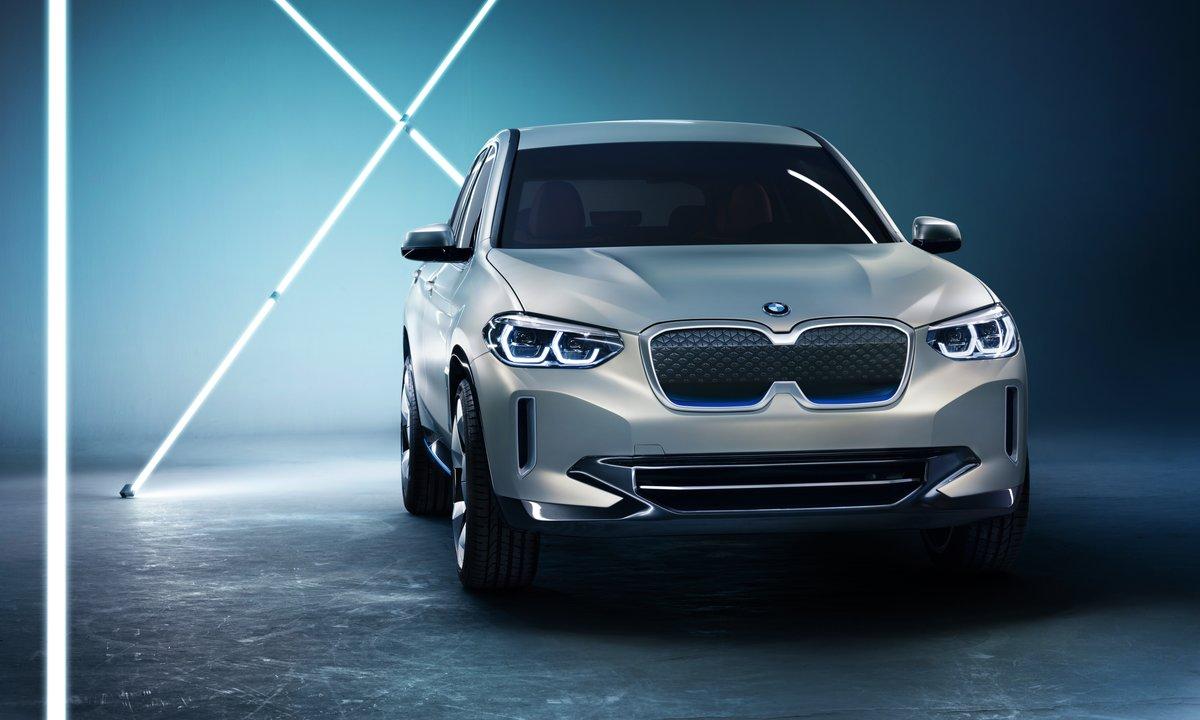Her er iX3 – BMWs første helelektriske SUV