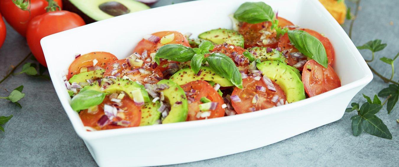 Tomatsalat med avocado