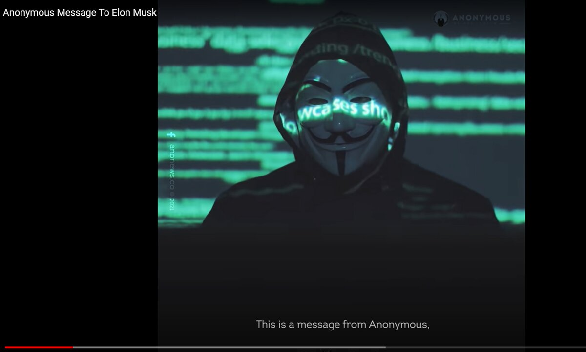 Beryktede hackere angriper Tesla og Elon Musk i ny video