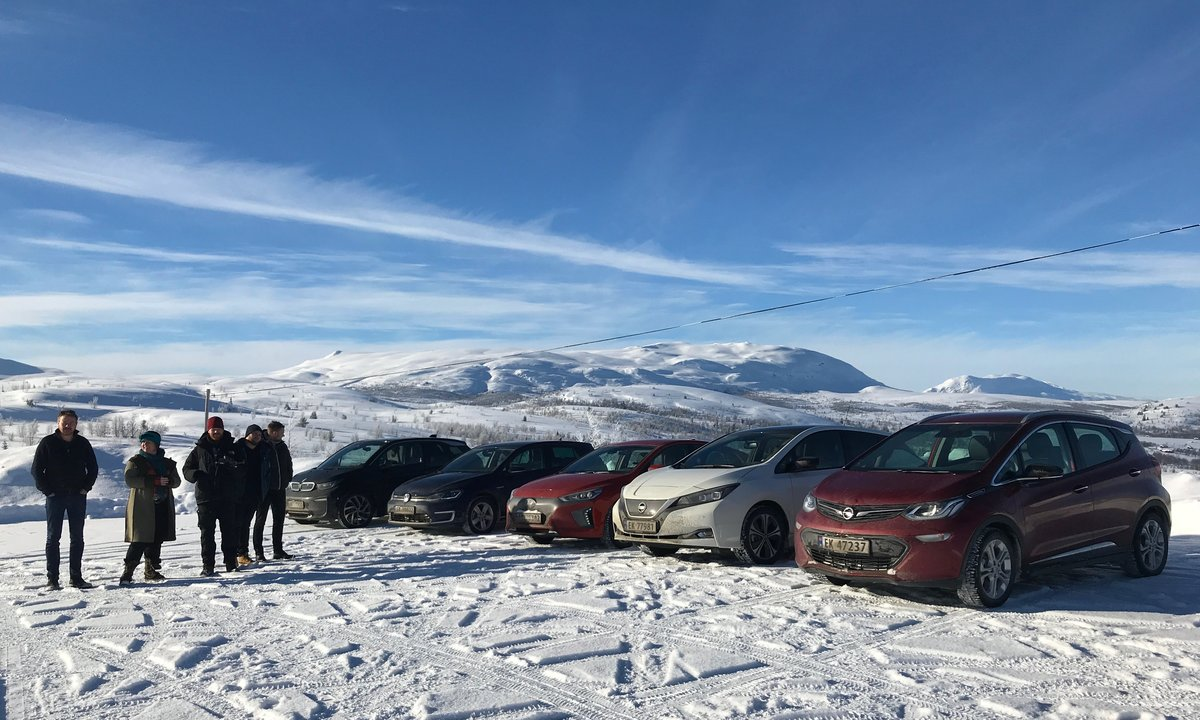 The biggest electric car test in winter wonderland ever