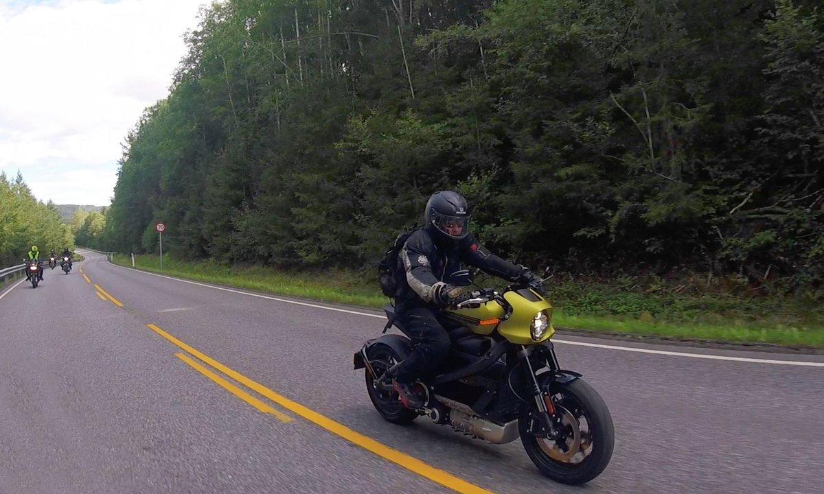 Test av Harley-Davidson LiveWire: Elektrisk testfest på to hjul