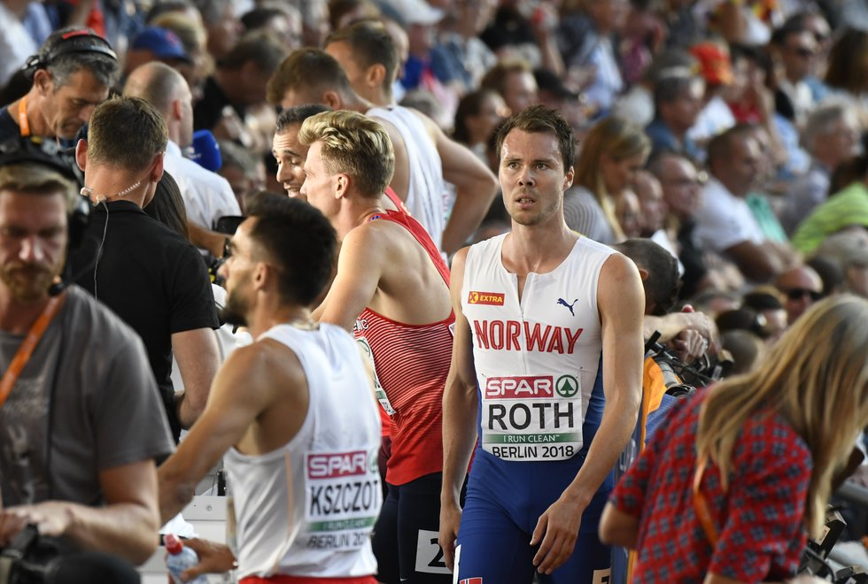 Thomas Roth i EM friidrett 2018 - Berlin
