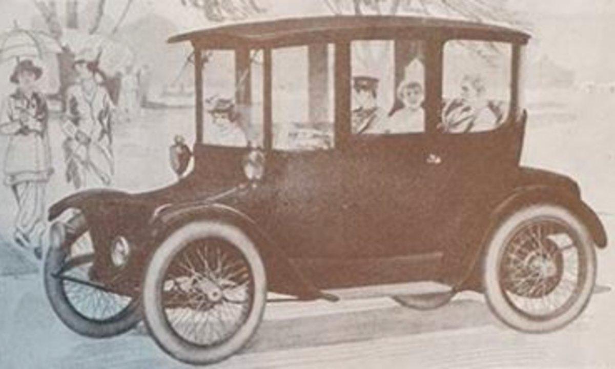 Elbilnytt – for 100 år siden