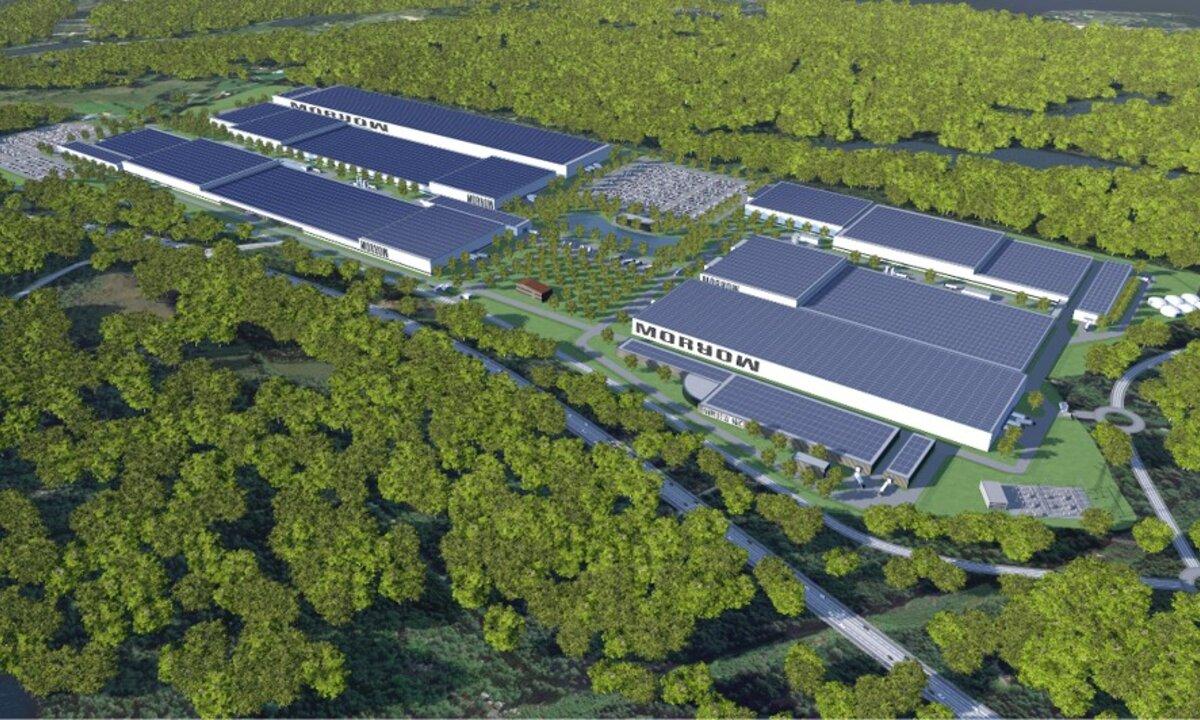 Arendal sier ja til tomt: Her kan Morrow Batteries skape 2.500 nye arbeidsplasser