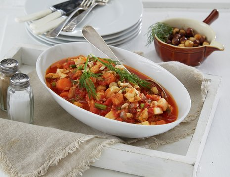 Rotgrønnsakgryte med tomat