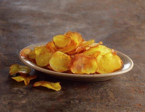 Hjemmelaget potetchips, hjemmelaget potetgull,