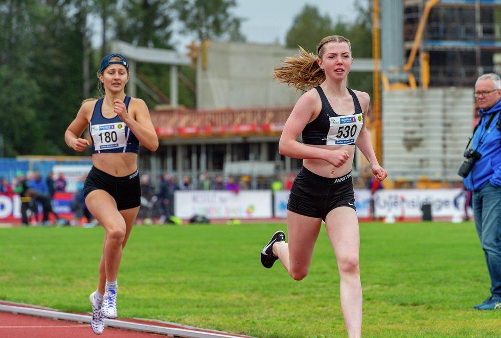 UM friidrett 2019 Jessheim - 800m J17