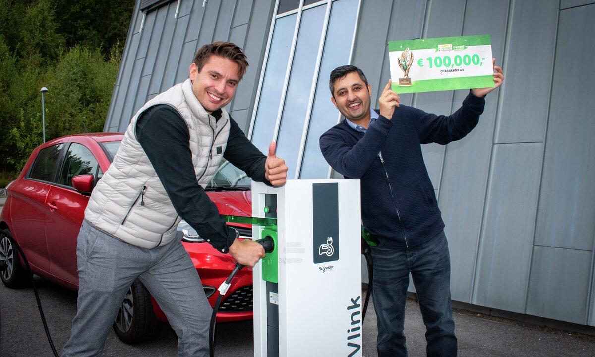 ChargeBnB: Grønn gründer startet norsk selskap for deling av elbillading – vant millionpris
