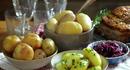 Skåler med diverse poteter
