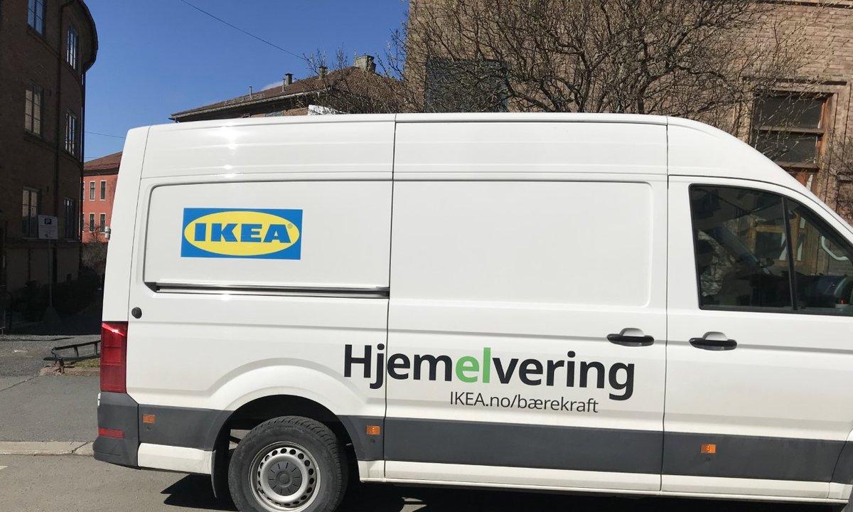 Ikea går for «hjemelvering»