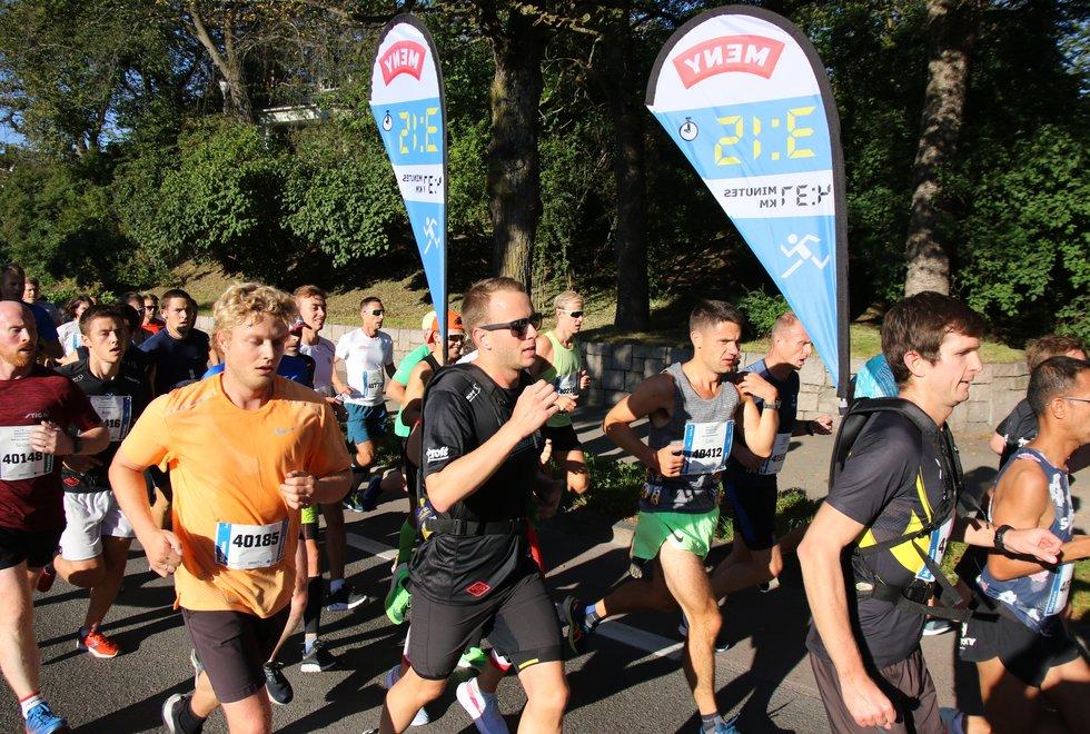 Fartsholdere, Oslo Maraton 2019