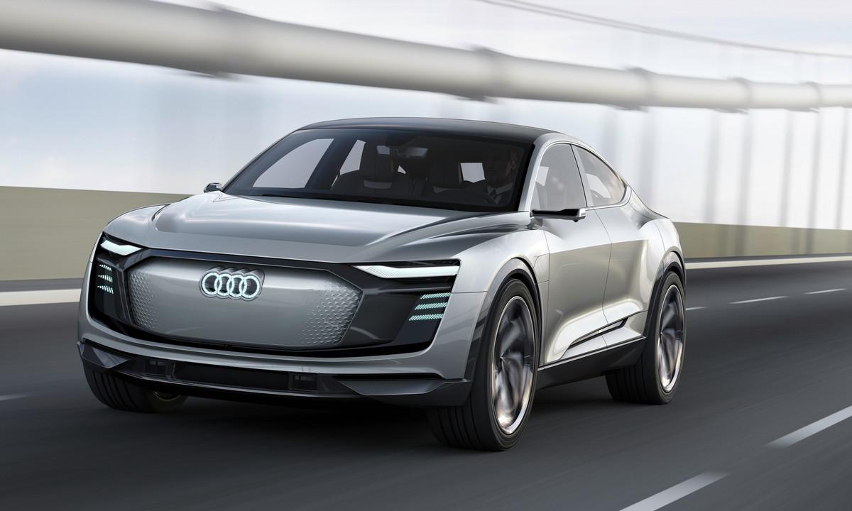 Audi viser elektriske e-tron Sportback