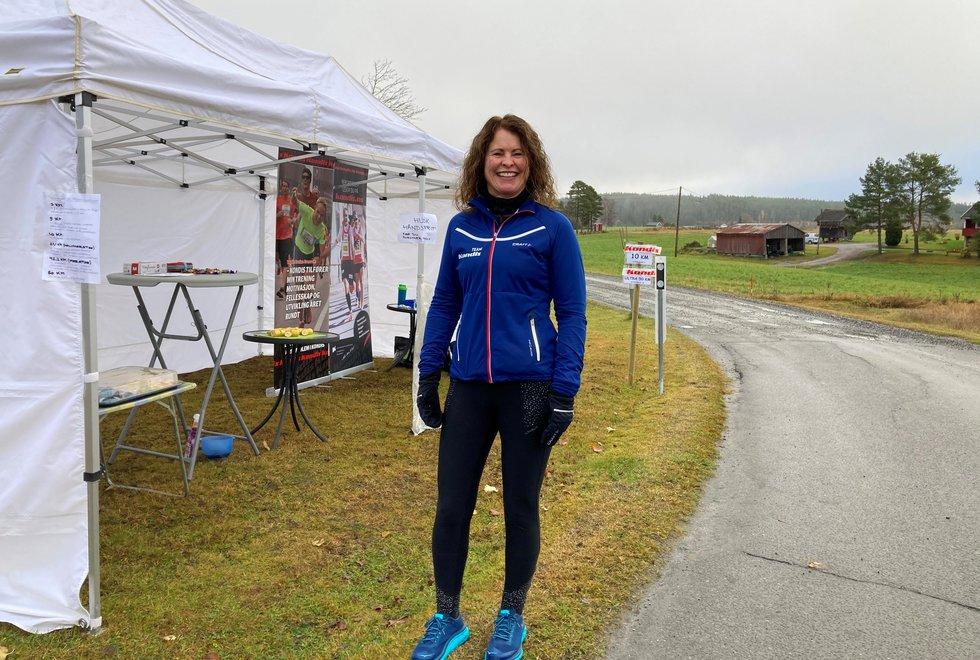 Marianne Røhme, Kondistreninga Årnes arrangerte Kondisløpet 31. oktober 2020