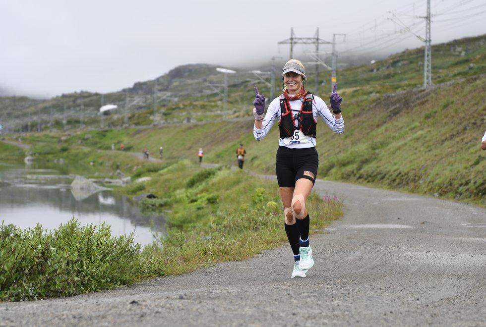 Kirsti Johnsen Skåtøy i Rallarvegsløpet 2019 - dag 2