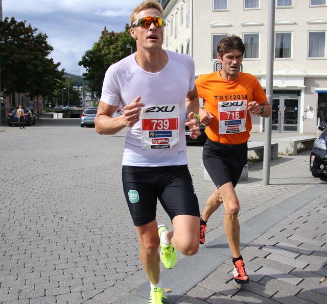 Henrik Brøvig og Vegard Fluge Samuelsen