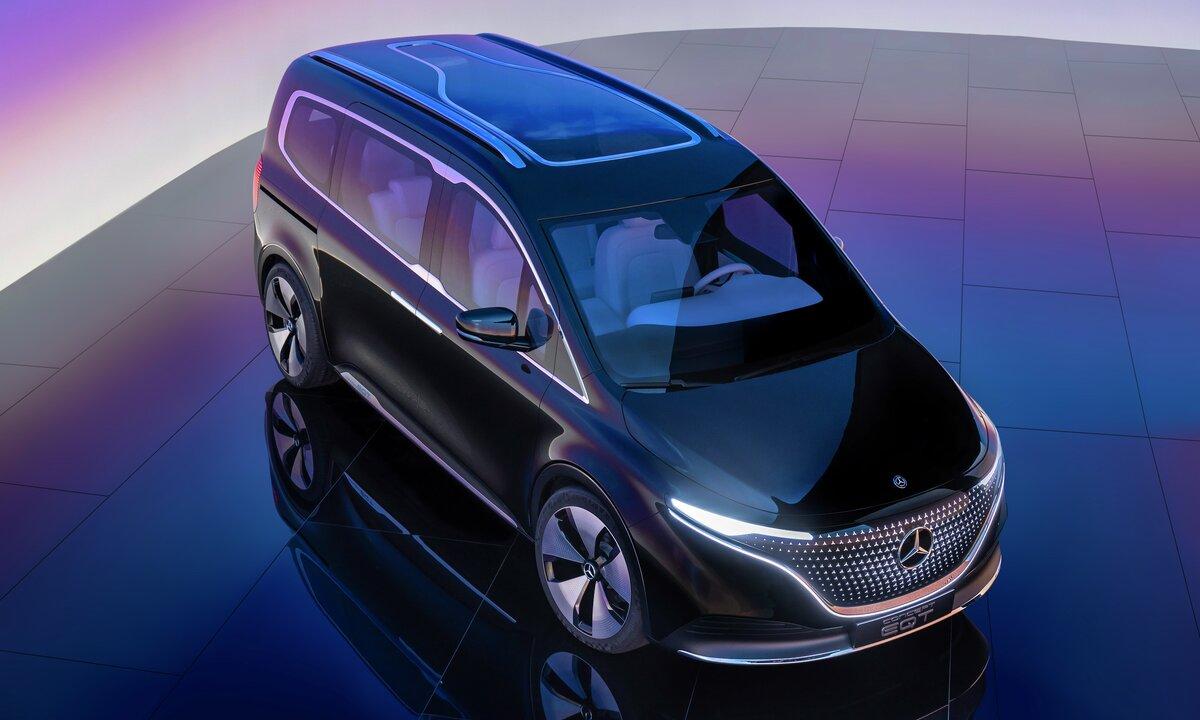 Sjekk ut Mercedes-Benz EQT: Ny elektrisk 7-seter for storfamilien